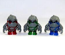 LEGO® Figur Rock Monster Rot Grün Blau Power Miners Minifigures 3 Stück