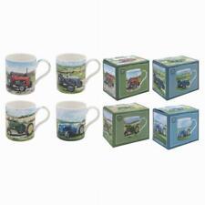 Classique Tracteurs Porcelaine Fine Tasses Individuellement Emballé