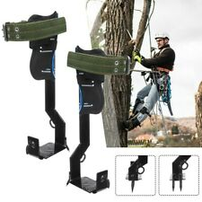 NEW Tree Climbing Spike Set Stainless Steel Climber W/Gear Adjustable Lanyard