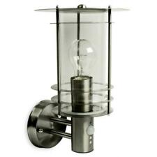 Stainless Steel Wall Lantern with PIR - 28176