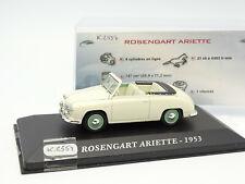 Ixo Presse 1/43 - Rosengart Ariette 1953
