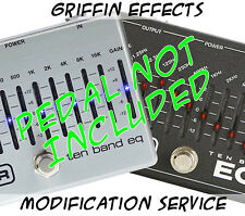 MXR 10 Ten Band EQ - Griffin Effects - Silent Night Modification Service