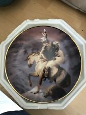 "Franklin Mint ""Spirit of the North Wind"" Limited Edition Plate I5499"