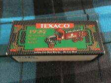 ERTL Texaco 1925 Kenworth Stake Truck -Die Cast Metal Coin Bank w/Key-NEW in Box