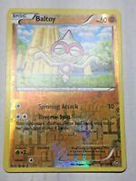 Pokemon Card B&W Dragons Exalted Reverse Holo Baltoy 63/124 FREE SHIPPING!