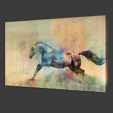 NOT Framed 12x19'' Canvas Print Home Decor Running horse Wall Art Pictures