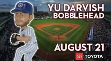 Yu Darvish South Bend Cubs 2018 Bobblehead Chicago Cubs Star new in box SGA
