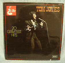 "♫ 33 T  VINYL  TOM JONES "" 20 GREATEST HITS "" ♫"