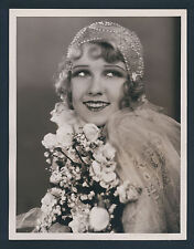 EXQUISITE ANITA PAGE OVERSIZE 10X13 DBLWT PHOTO BY LOUISE IN N MINT- COND - SIL