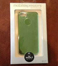 Mobile Expressions For Apple iPhone 5 Metallic Green Cover Case NEW