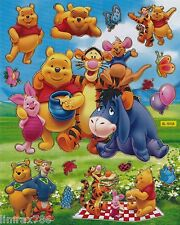 WINNIE THE POOH AND FRIENDS BIG POSE SCRAP BOOK STICKERS (BUY 5 MIX FREE 1)