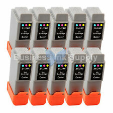 10 COLOR BCI-24 BCI24 NEW Compatible Ink Cartridge for Canon BCI-24C HIGH YIELD