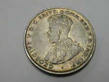 1926 Australia One Florin Two Shillings XF Lower bar on F Missing Rare Variety