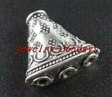 24pcs Tibetan Silver 3-to-1 Triangle Connectors 23.5x23.5x10mm 8040