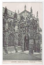 Eglise Notre Dame Portail Sud Louviers France postcard