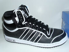 ADIDAS TOP TEN PEARL BLACK/WHITE HI-TOP SHOES MENS 10