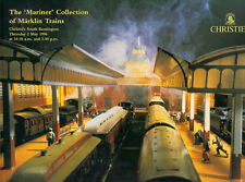 CHRISTIE'S Model Railway Mariner Collection Marklin Trains Auction Catalog 1996