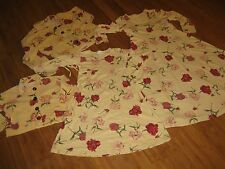 Floral Matching Womens 8 10 Mother Medium Med Daughter Girls 5 Dresses Jackets