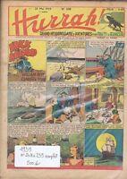 HURRAH n°208 à 239 complet. 28 mai à fin décembre 1939.