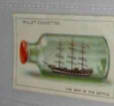 #42 how the ship came inside the bottle card