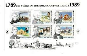 Turks and Caicos - 1989 - Presidential - Sheet of Six - MNH (Scott#776)