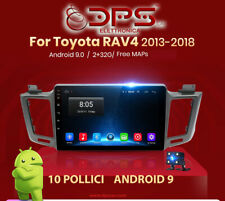 STEREO AUTO 10 POLLICI PER Toyota RAV4 2013 2018 2g+32g Android 9.0 Radio  WiFi