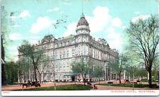 Lot of 4 Montreal Canada Postcards Cartier Bridge Telephone Bldg Windsor Hotel