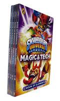 Skylanders Universe Book of Elements 4 Book Pack Magic Fire Earth Life Kids New
