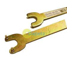 """SMERIGLIATRICE ANGOLARE 2 PIN spanner / chiave per 4-1/2 """" 115mm Tritatutto per sostituire i dischi"""