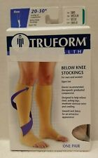 NEW 0865 Below Knee 20-30 Mmhg Compression Support Stocking Leg Therapy