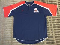Arizona Wildcats Baseball Team UA Nike Jersey LG L