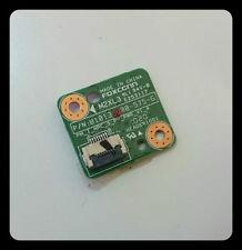 Scheda tasto pulsante accensione power switch button HP G62 Compaq Presario CQ62