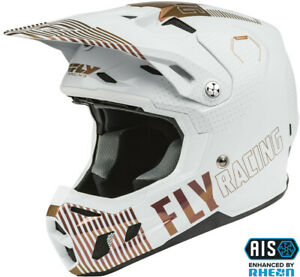Fly Racing 2021 Formula CC Primary LE Helmet ECE/DOT - White/Copper