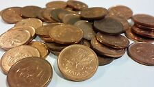 FULL ROLL 2004 NO P NON MAGNETIC CANADA ONE CENT PENNIES CIRCULATED