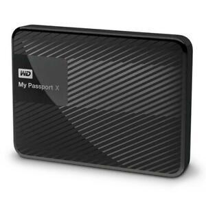 2TB Portable External Hard Drive Western Digital My Passport X Gaming  USB 3.0