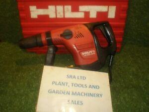 HILTI TE 500 AVR BREAKER  REFURBISHED SERVICED 110V SDS MAX VAT INCLUDED SRA10