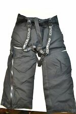 Men's Coldwave Sno Storm SnoStorm Snowmobile Bibs Pants Black Ski Winter Pants