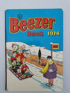 The BEEZER Book 1974 Annual Unclipped Great Birthday Christmas Father's Day Gift