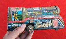 1970's Him Express Marque Train Moteur Boite Jouet