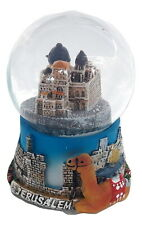 New Snowdome Israel Jerusalem Snowglobe Holyland Church of the Holy Sepulchre
