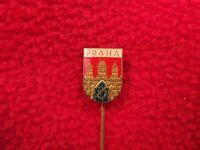 Dobruska Gutenfeld Town Hall Tower Czech Tourist Visitor Souvenier Pin Badge