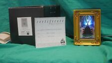 Olszewski Gallery of Light Snow White Evil Queen at Mirror with Certificate