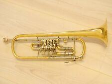 Trompete mit Trigger aus GOLDMESSING
