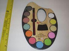 Watercolors Paint Set - 12 Colors Painter's Palette & Brush, Arts & Crafts, Play