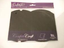 10 petites noir oreiller boîtes 11 x 10 x 3 cm par Craftstyle