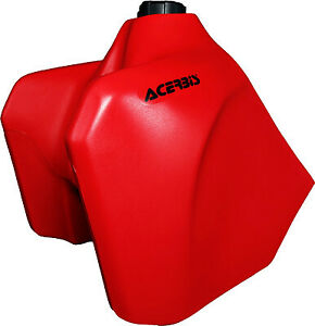 Acerbis Gas Tank 5.8 Gallons - Red (RED) 2044330229 73-0751 0701-0391 5.8 Gallon