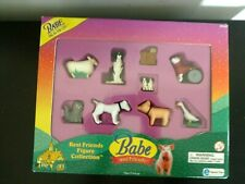 Babe Pig in the City Friends Set Of 9 Collectible Figures 1998 New Equity Toys