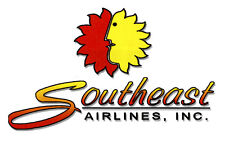 "Southeast Airlines Logo Fridge Magnet 3.25""x2.25"" Collectibles (LM14058)"