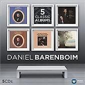 Daniel Barenboim: 5 Classic Albums (2014) New & Sealed