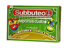 SPAIN V BRAZIL SUBBUTEO BOX SET. PAUL LAMOND TABLE SOCCER. TABLE FOOTBALL.
